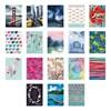 Obrázek Obal na kreditní karty - mix motivů / uzavírání na druk