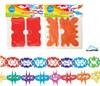Obrázek Girlanda papírová - 4 m / mix motivů
